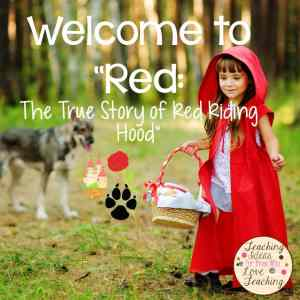 "Guided reading lesson on ""Red"""