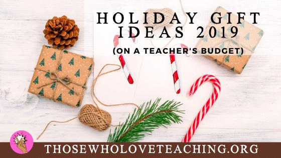 Teacher Deals 2019 Holidays