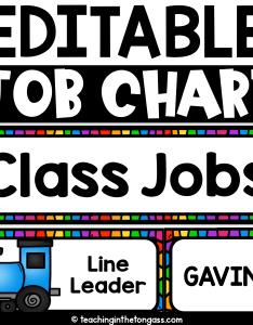 Classroom job chart also teaching in the tongass rh teachinginthetongass