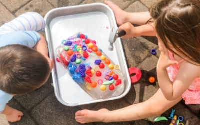 Ice Block Toy Dig Outside Sensory Activity