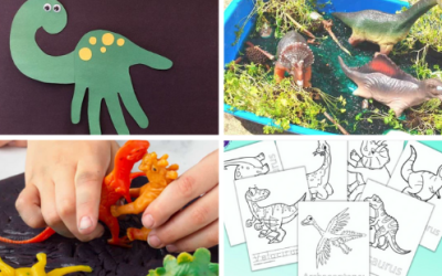 14 Easy and Fun Dinosaur Activities for Preschoolers and Toddlers
