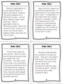 All Worksheets  Main Idea And Supporting Details ...