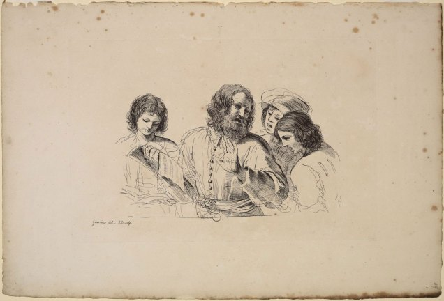 The music lesson by Guercino (1591-1666) - private collection