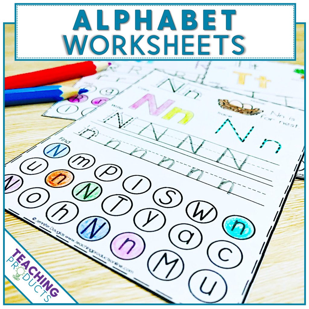 Alphabet Worksheets For Letter Recognition