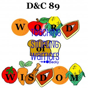word of wisdom d c 89 WM
