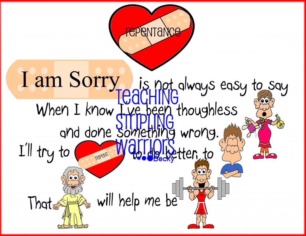 Lesson 29 I Can Say I M Sorry