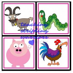 animal card 4 wm