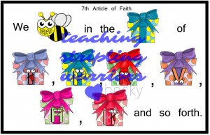7th article of faith example wm