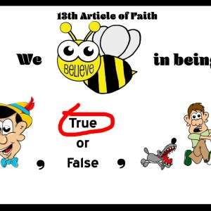 13th article of faith first part
