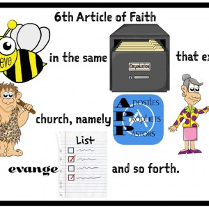 6th Article of Faith example