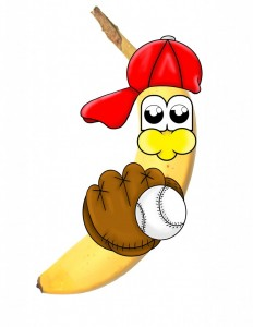 banana baseball