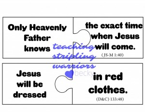 second coming puzzle pieces pg 1 wm
