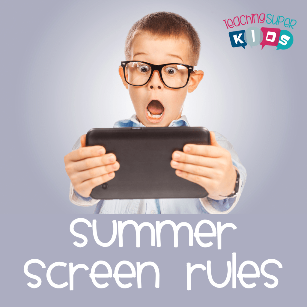 Screen Rules for Sumertime