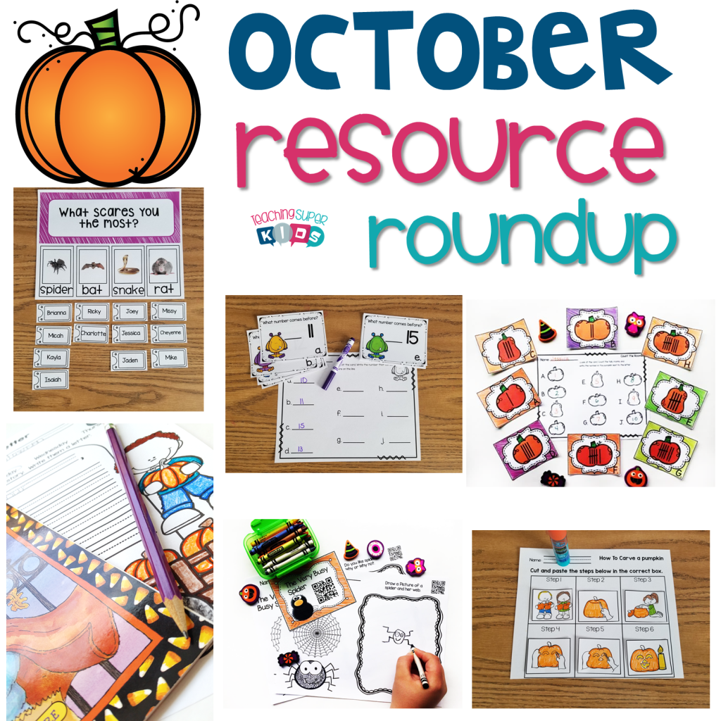 October Resources for the primary classroom