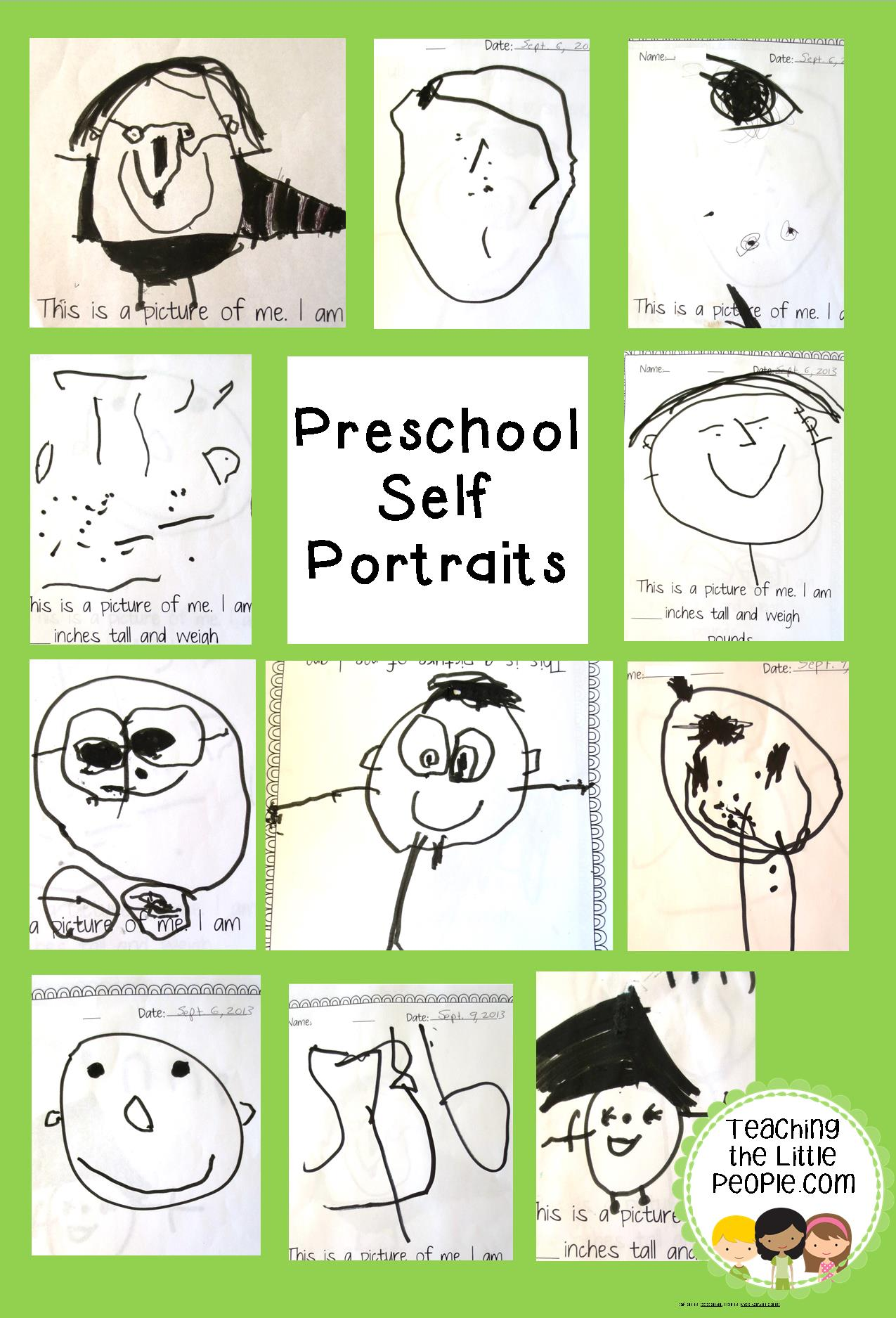 All About Me In Preschool