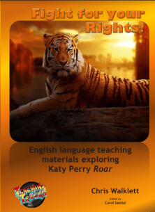Themed lessons/activities inspired by Katy Perry's Roar. Theme 'Empowerment'
