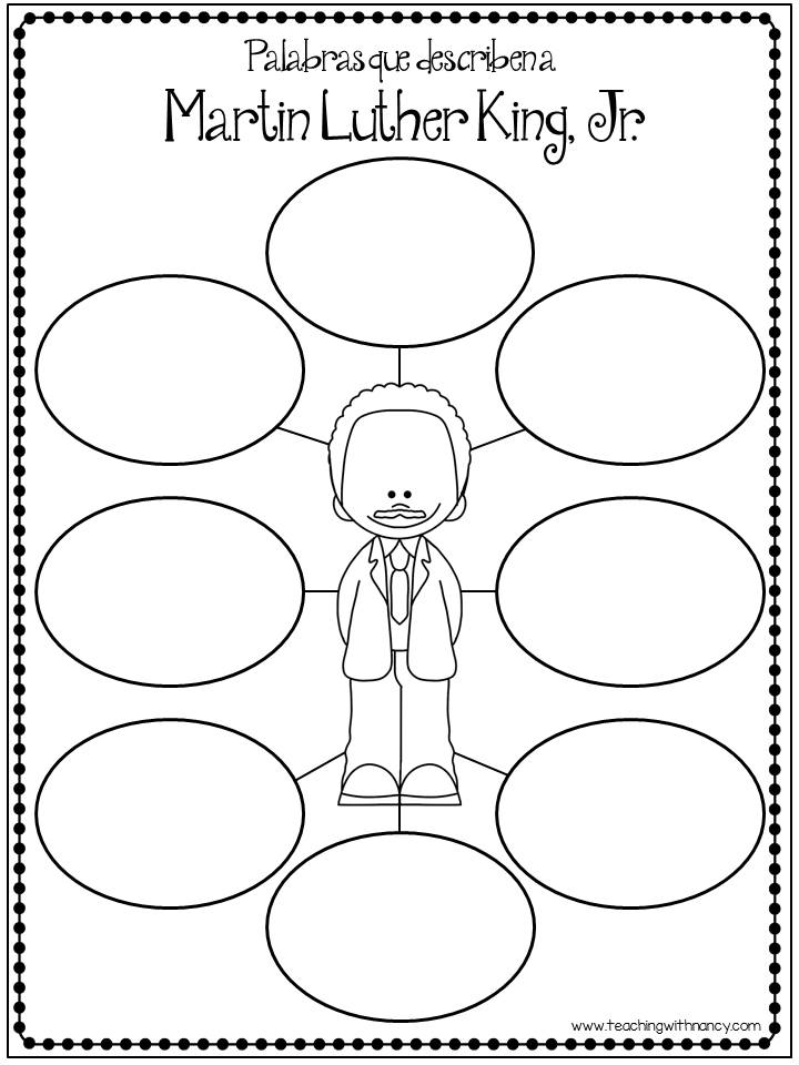 Coloring Sheet Of Martin Luther King Jr : When is martin luther king jr. day 2018 mlk history the old