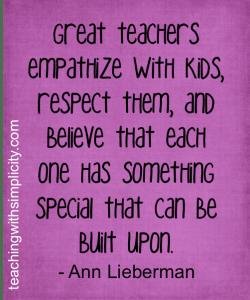 MOTIVATION FOR TEACHERS