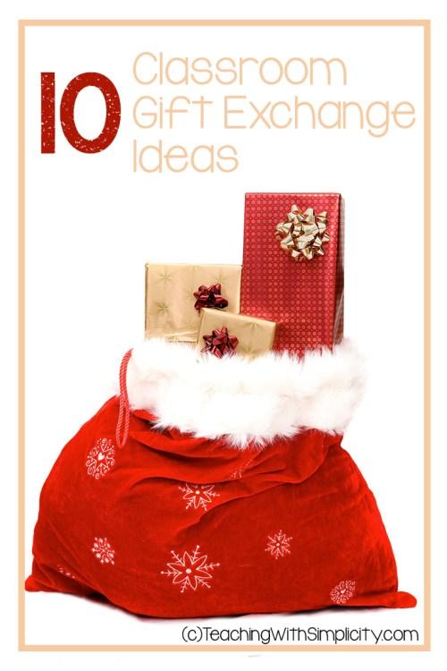 10 Classroom gift exchange ideas
