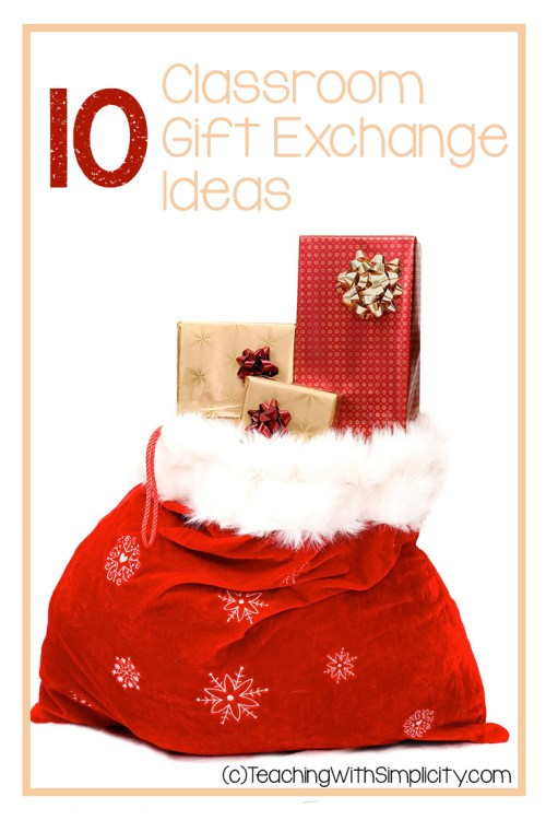 10 Classroom gift exchange ideas
