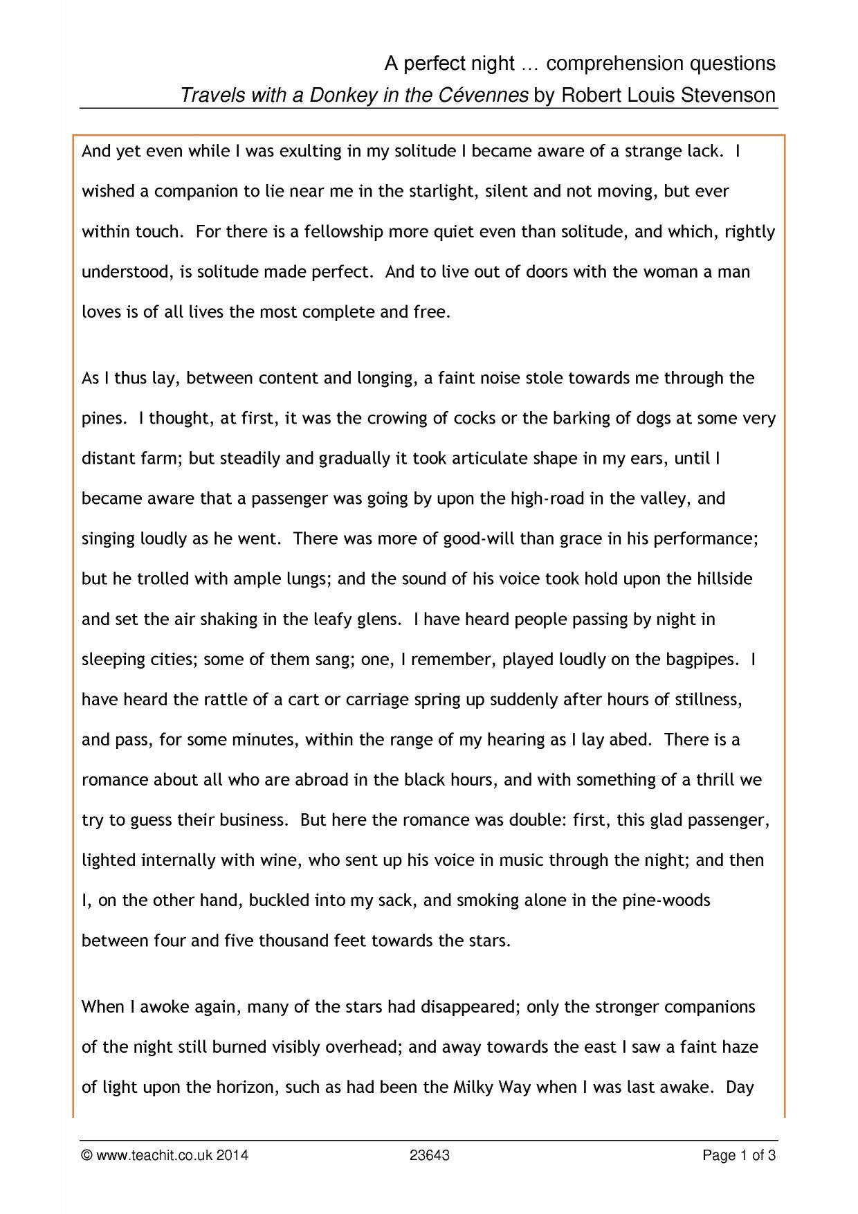 - Reading Prehension Worksheet Year 5 Printable Worksheets And