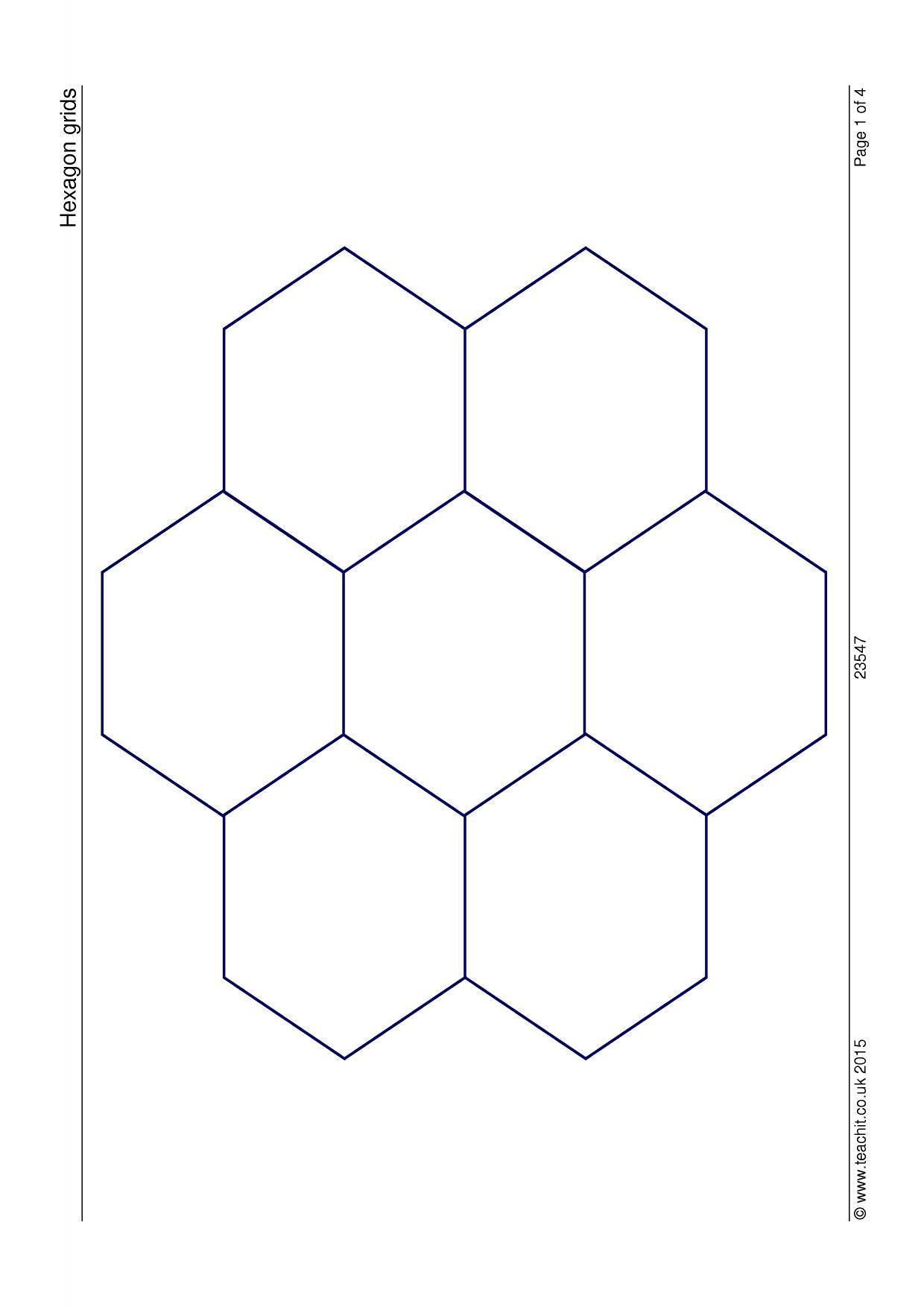 Hexagon grids
