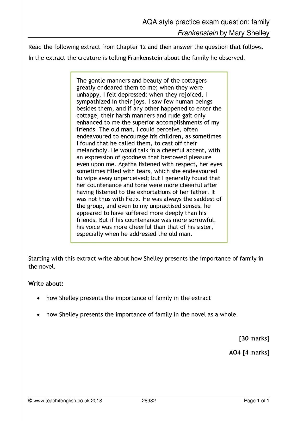 Animal Farm Practice Questions Aqa