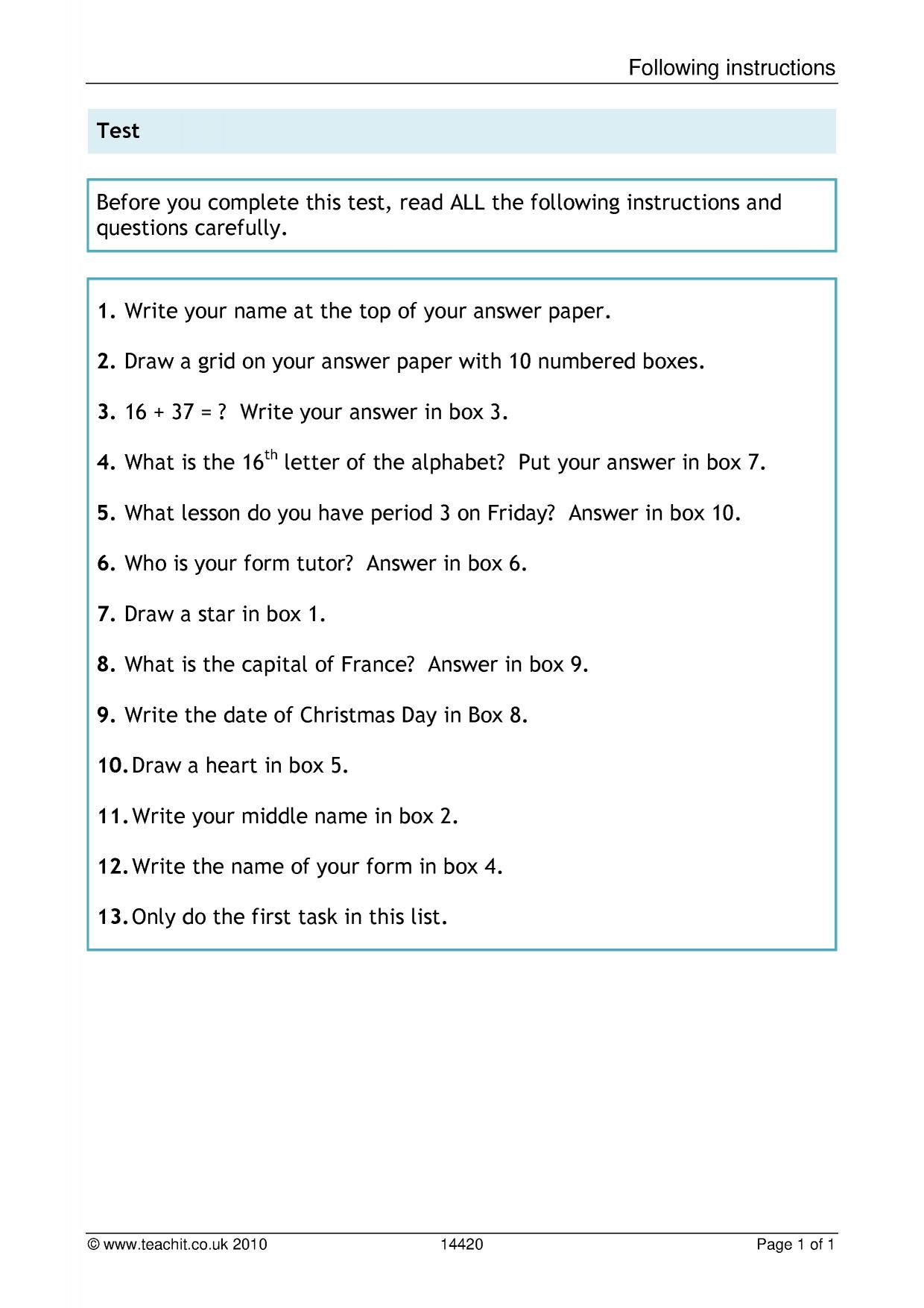 hight resolution of KS3 Reading   Comprehension   Teachit English