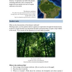 Amazon Rainforest Layers Diagram Hotpoint Aquarius Ctd00 Wiring Ks3 Rainforests Teachit Geography