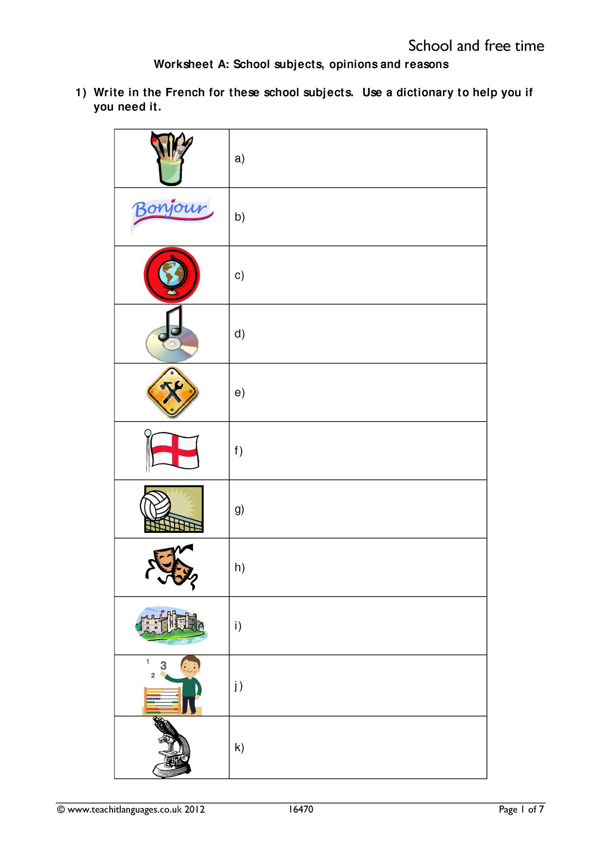 hight resolution of KS3 French   Verbs and tenses   Teachit Languages