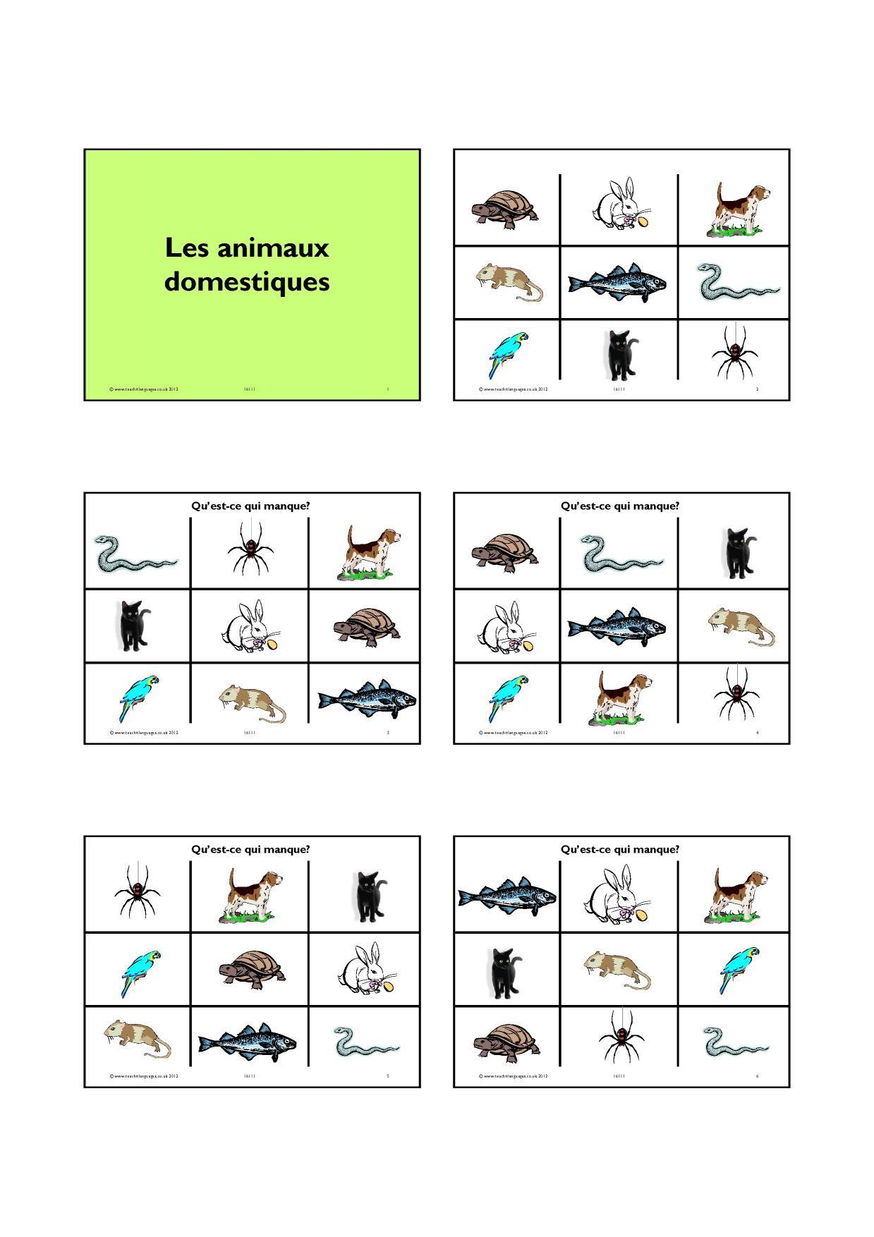 French Pronunciation Worksheet