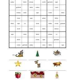 Christmas resources - Teachit Languages [ 1650 x 1275 Pixel ]