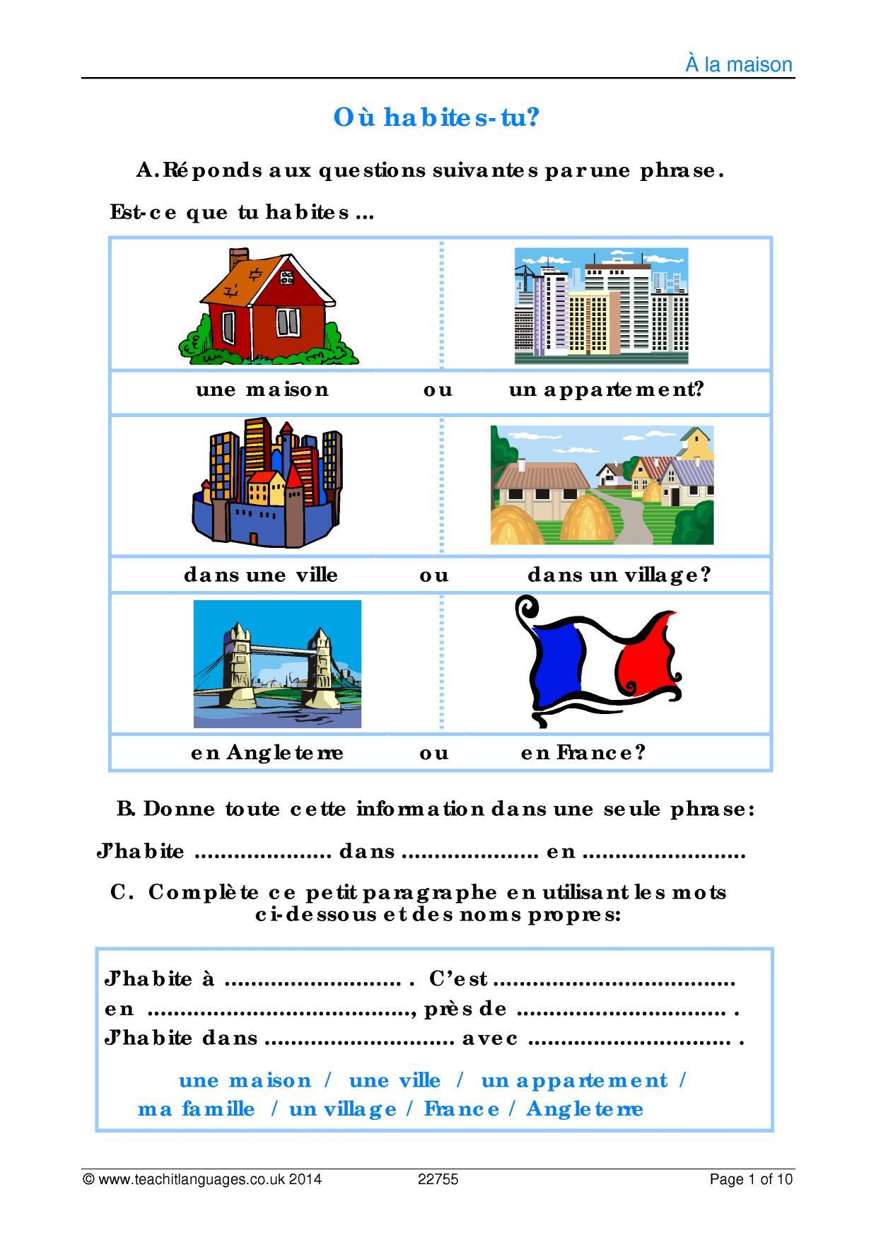 Ks3 French
