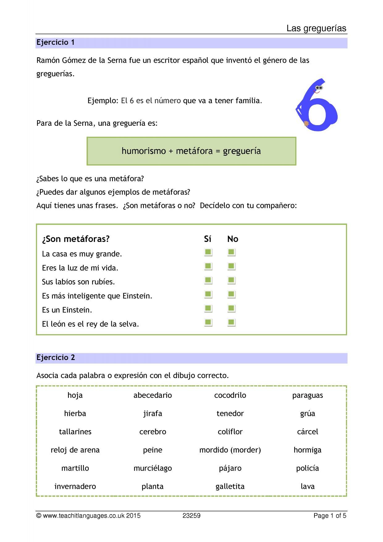 Ks4 Spanish