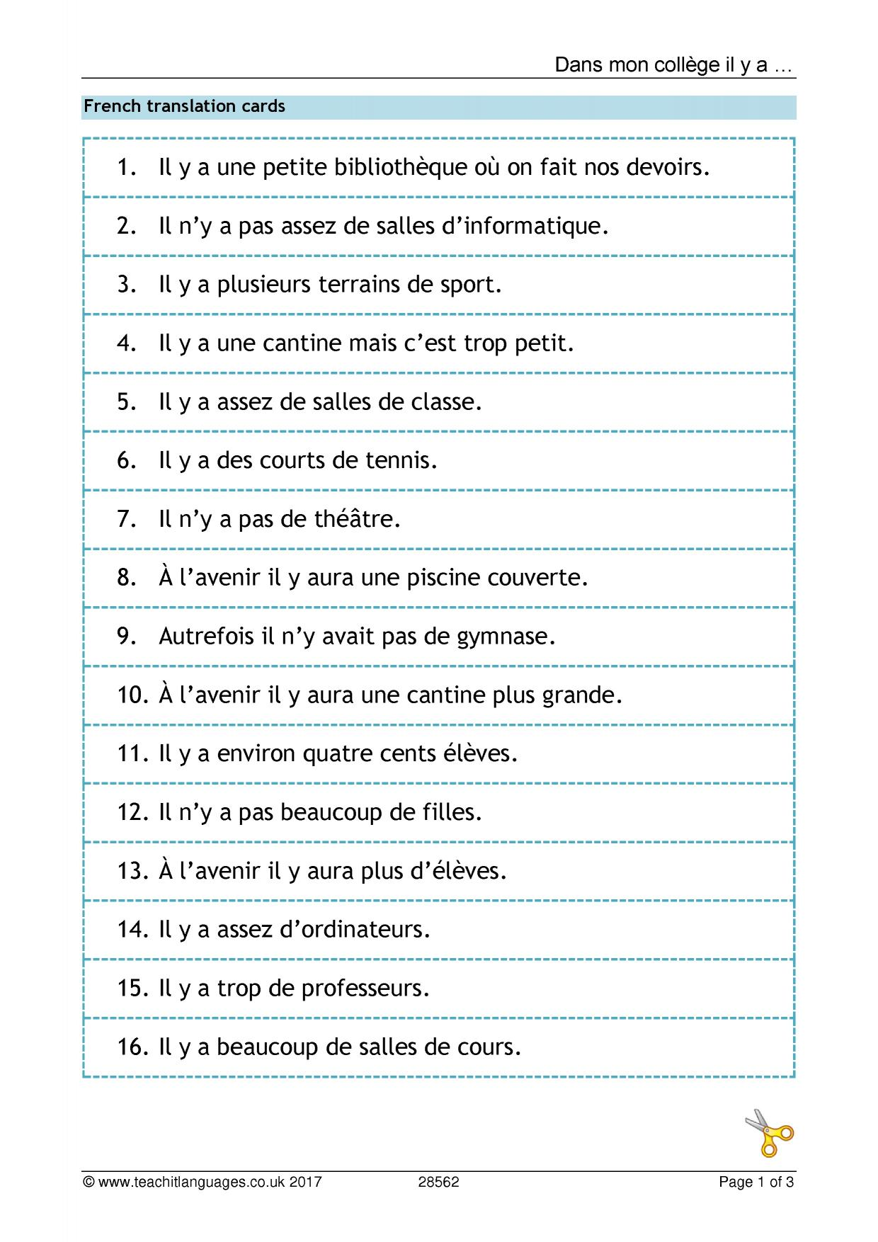 French Language Teaching Resources