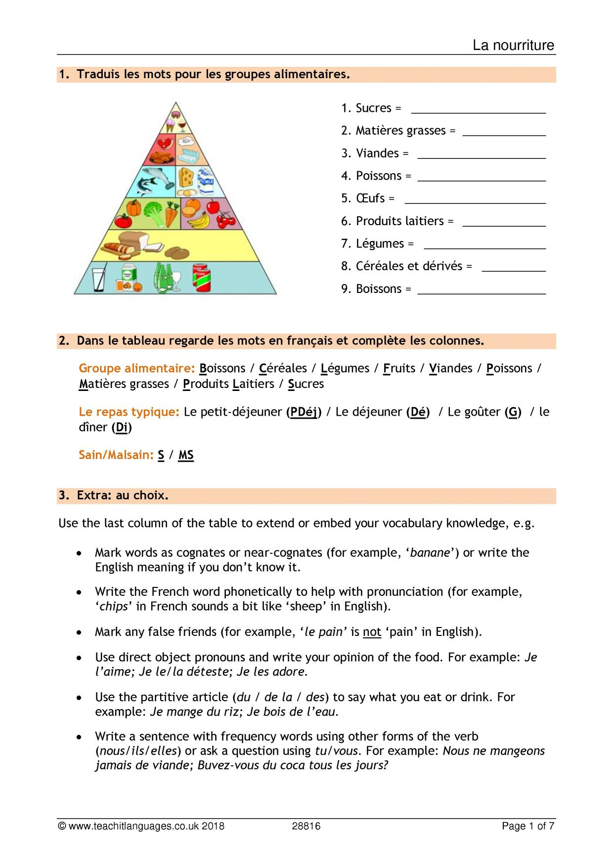 French Language Teaching Resources