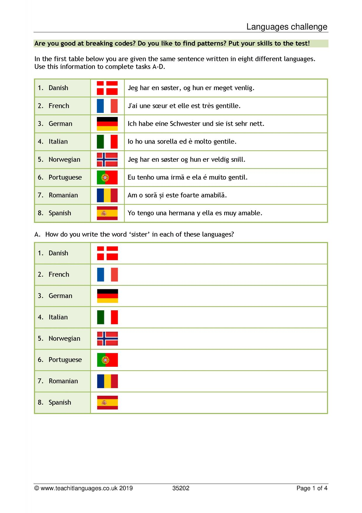 hight resolution of French language teaching resources   TeachIt Languages - Teachit Languages