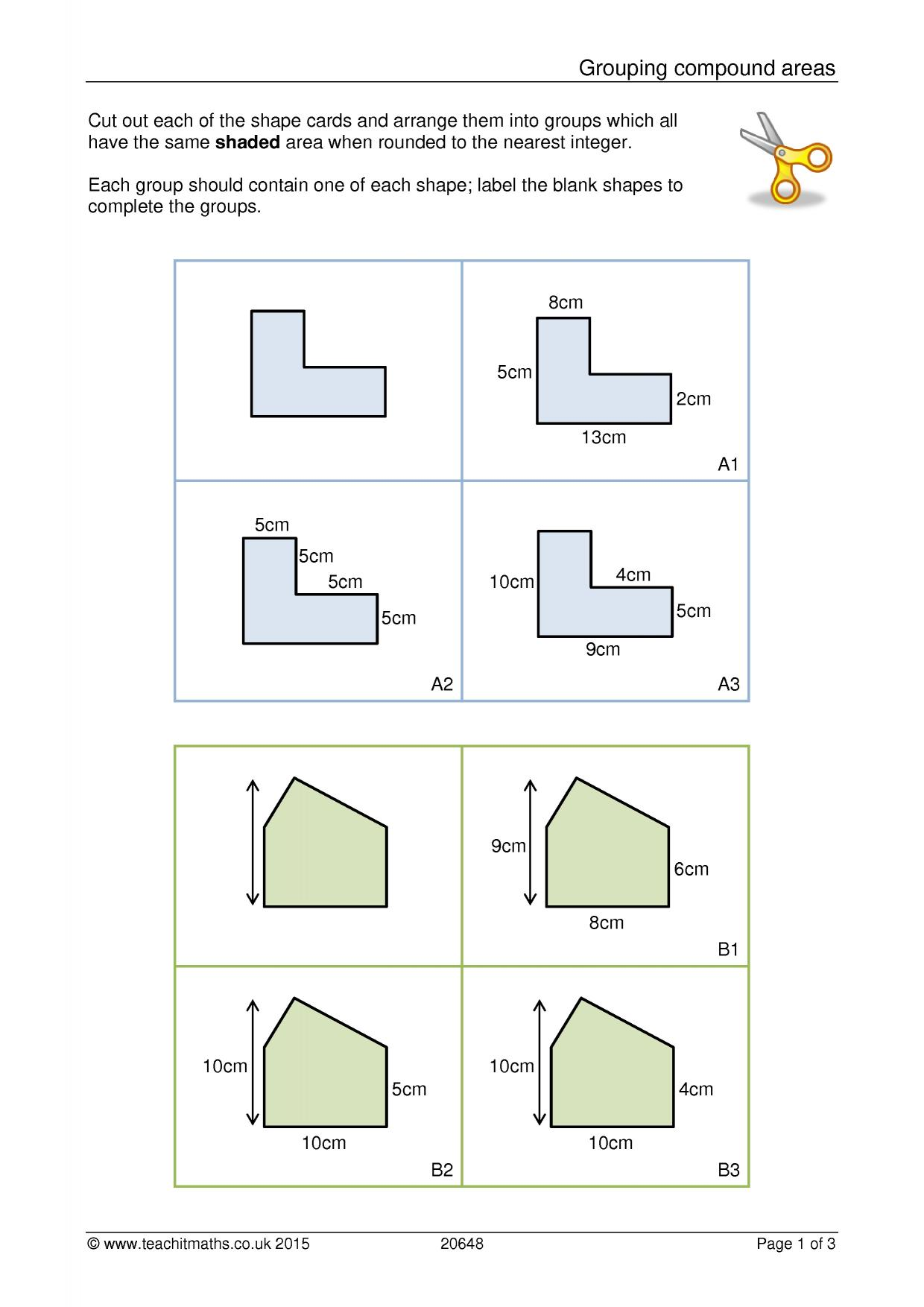 Area And Perimeter Compound Shapes