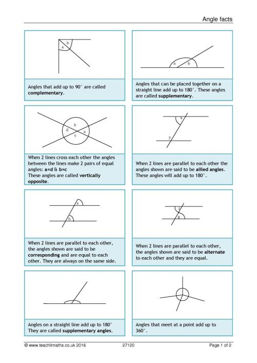 small resolution of Missing Supplementary Complementary Angles Worksheet   Printable Worksheets  and Activities for Teachers
