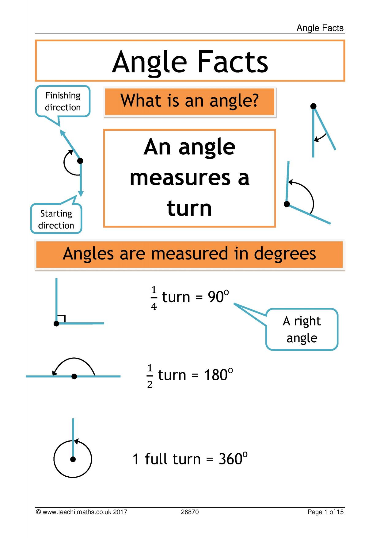Angles Basic Rules And Parallel Lines