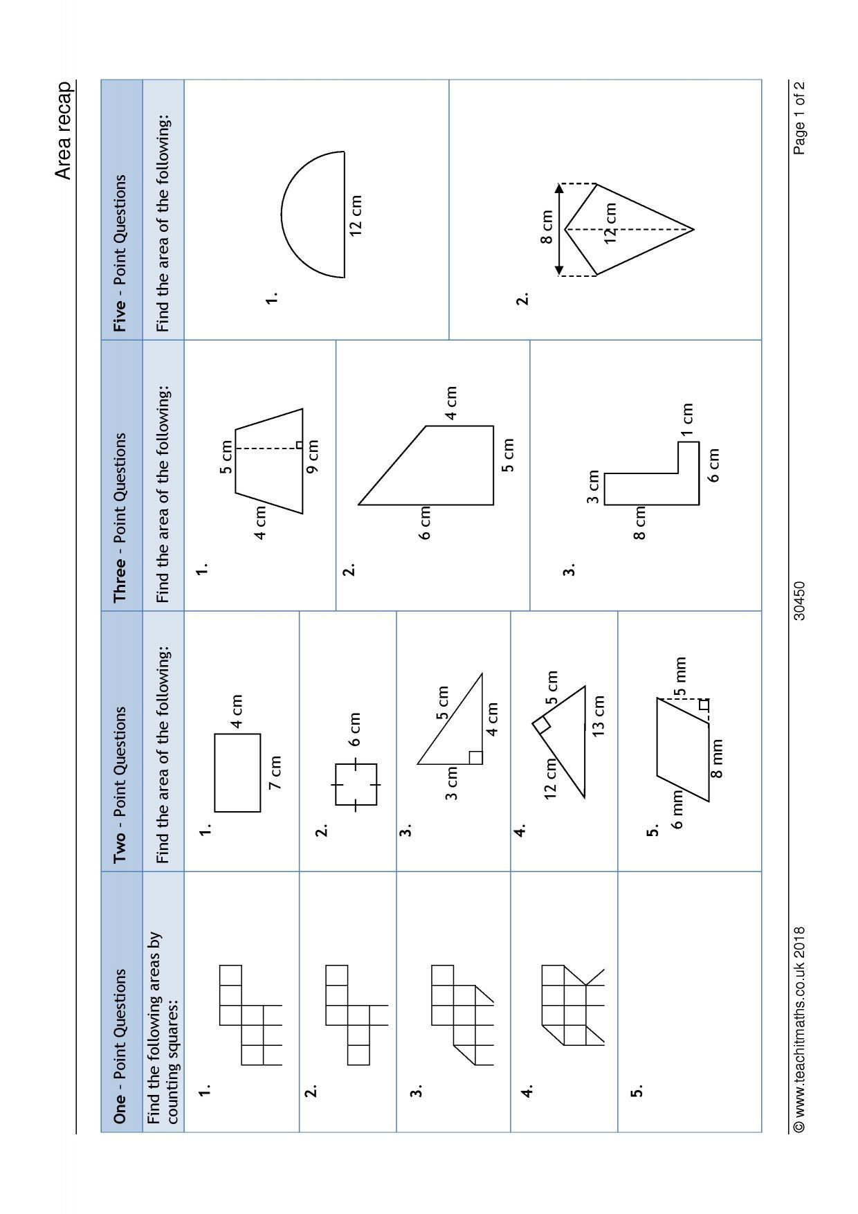 Calculating Volume Worksheet Ks3