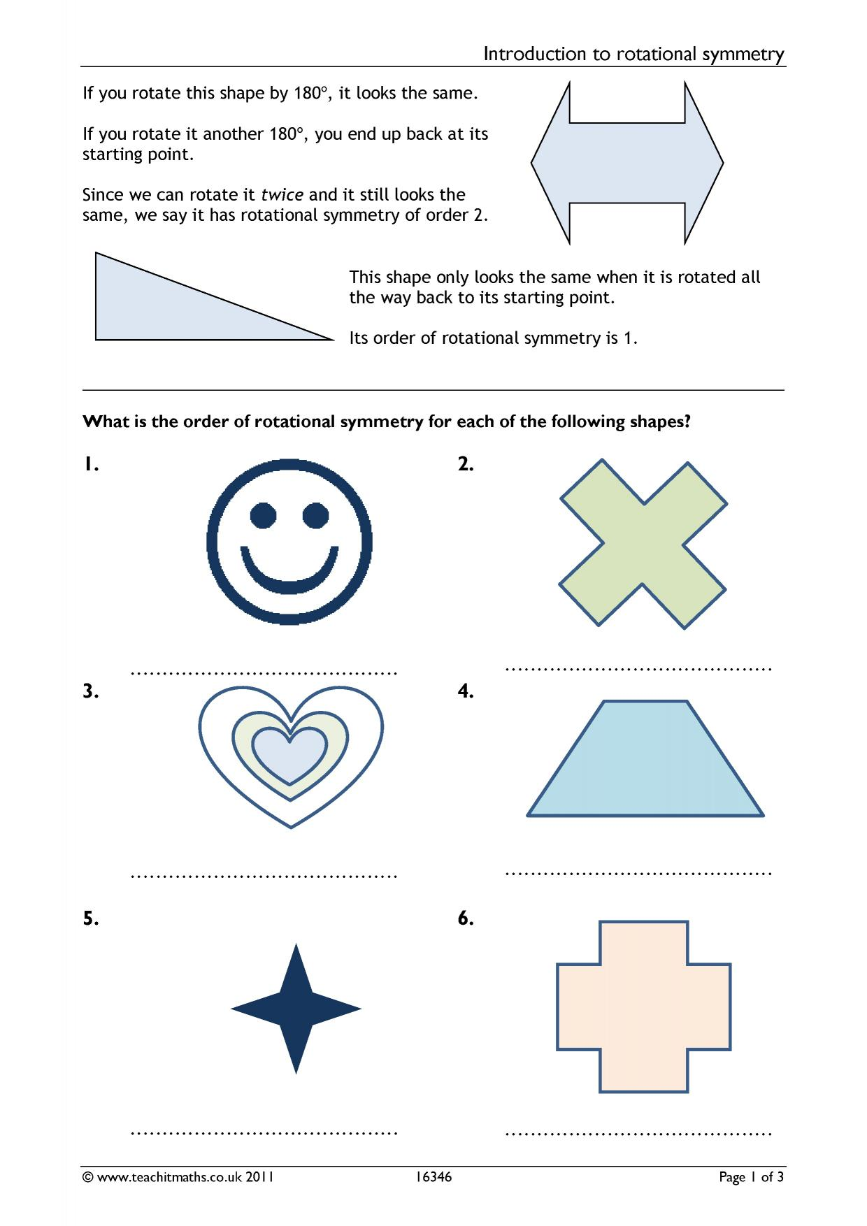 hight resolution of All Finding Lines Of Symmetry Worksheets   Printable Worksheets and  Activities for Teachers