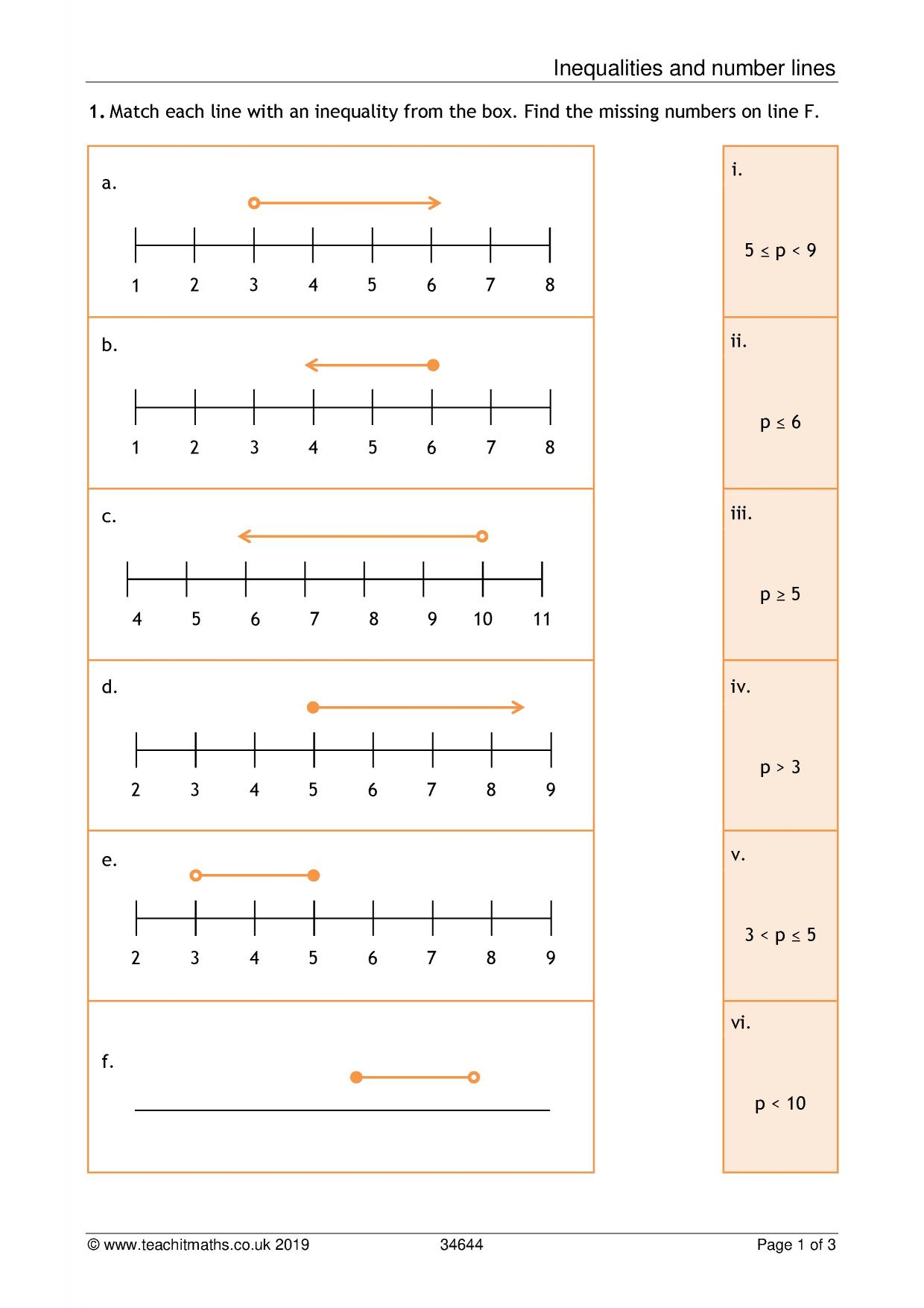 Ks3 Numbers Teaching Resources