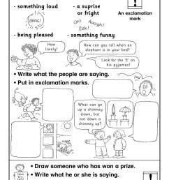 EYFS   KS1   KS2   Basic punctuation   Teachit Primary [ 1754 x 1239 Pixel ]