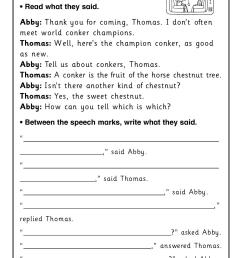 Direct And Indirect Worksheet   Printable Worksheets and Activities for  Teachers [ 1754 x 1239 Pixel ]