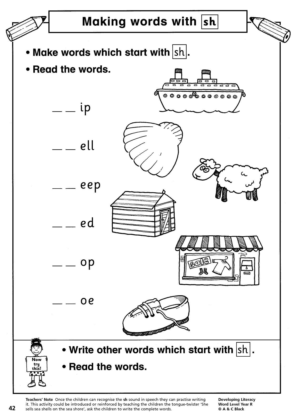 Jolly Phonics Wh Worksheet