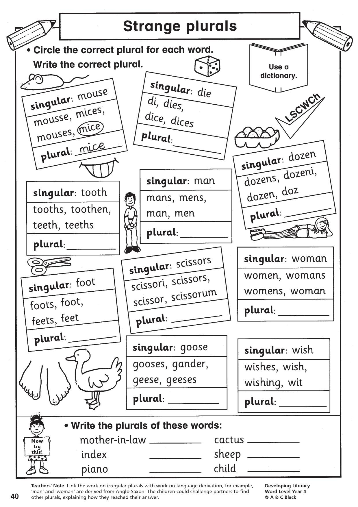 Spelling For Older Learners