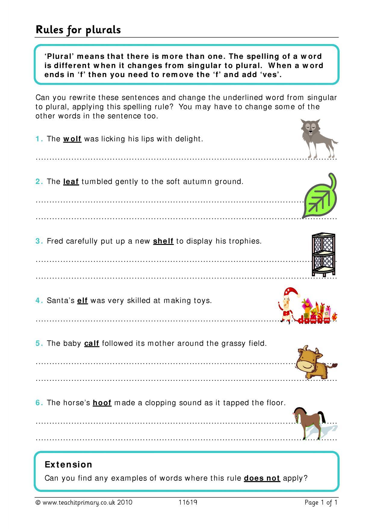 Find The Spelling Mistakes Worksheet