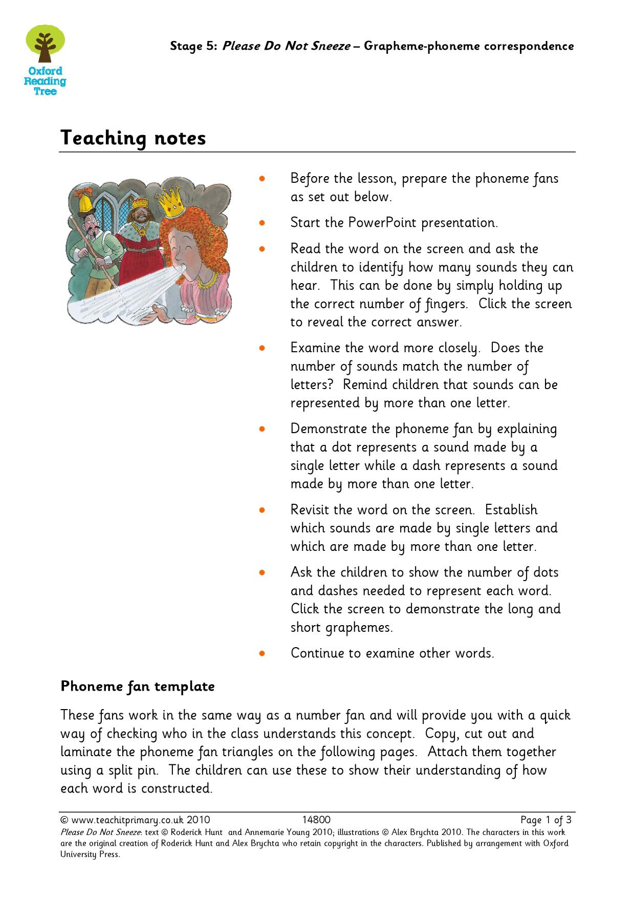 Early Years And Key Stage One English Resources