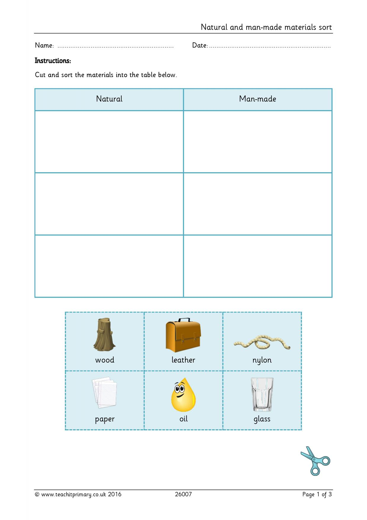 Primary Teaching Resources For Science Materials